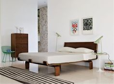 Modernica Alpine Bed | 2Modern Furniture & Lighting