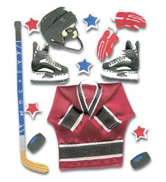 Jolee's Boutique - Sports and Leisure Collection - Ice Hockey