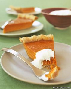 Pumpkin Pie with maple syrup. I like to put a splash of snap or brandy for a little zing!