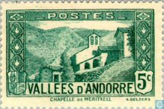 Andorra - French - Landscapes 1932