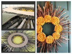 Věnec na dveře Wreaths, Halloween, Fall, Home Decor, Autumn, Decoration Home, Door Wreaths, Room Decor, Deco Mesh Wreaths