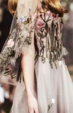 Fairytale Fashion, Fairytale Dress, Paolo Sebastian, Tulle Gown, Couture Collection, Silk Chiffon, Pretty Outfits, Pretty Clothes, Bridal Dresses