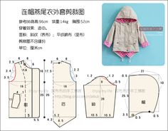 Neutral en el poder! Chaquetas con capucha de cola de milano adjunta cortar Figura BB muestra el proceso de producción _ _ bueno Boubou blog de Sina