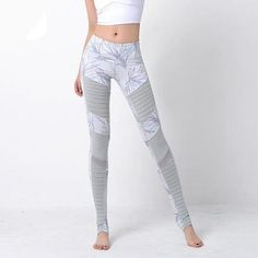 Cheap Yoga Pants, Buy Directly from China Suppliers:SYPREM Yoga pants Moto-Leggings Women leggings Print Fitness Running Mesh Trousers Professional Training Sports Tights Leggings Sale, Printed Leggings, Leggings Are Not Pants, Moto Pants, Trousers, Sport Tights, Pleated Pants, Yoga Wear, Skin Tight