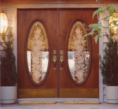 Gorgeous entryway doors from Acsent. #housetrends http://www.housetrends.com/specialist/Acsent