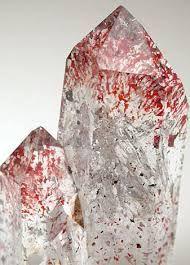 quartz with inclusions