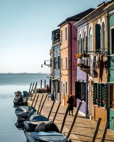 Thank you all for your kind words yesterday 🎉🎂🙏 and hope you enjoy a shot from a sunny day in Burano with ☀️💦 . Postcards From Italy, Venice Italy, Wonderful Places, Sunny Days, Street View, Island, World, City, Nature