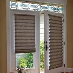 Classic Blinds & Shutters Design Center provides a large selection of french door blinds, shades and shutters, as well as patio door window treatments. Serving Alpharetta, GA and surrounding areas. Blinds For French Doors, French Door Curtains, Windows And Doors, Front Doors, Roman Shades French Doors, Patio Doors With Blinds, Window Blinds, Patio Door Blinds, Curtains For Doors