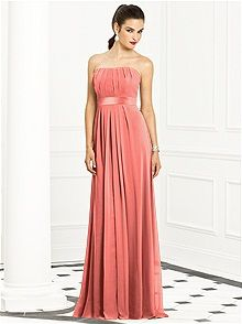 Coral Bridesmaid Dresses: The Dessy Group