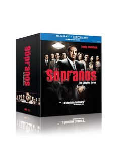 The Sopranos: The Complete Series on Bluray or DVD Only $74.99!
