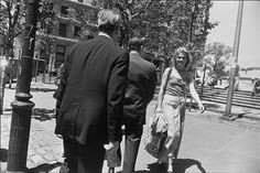 Untitled  Edition: 54/80 Portfolio: Women are Beautiful Descriptive: smiling woman Garry Winogrand (United States, 1928-1984) United States, 1975, printed 1981 Photographs Gelatin-silver print Image: 8 3/4 x 13 in. via LACMA Collections