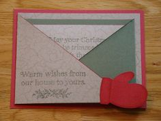 Maybe for Margie's Bday gift, warm wishes for a wondeful birthday! Christmas - this would make a nice INSIDE of a card
