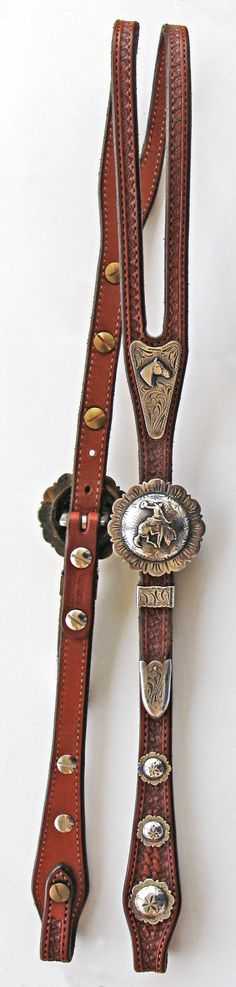 Oh my! I love this silver headstall! Got to have it!
