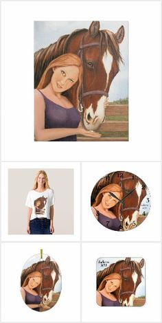 Horse and Woman Best Friends