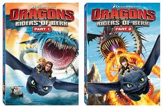 One lucky reader of The Mom Reviews will win a copy of Dragons: Riders of Berk Parts 1&2 on DVD!
