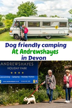 At Andrewshayes in East Devons Best Touring Motorhome Static Caravan Camping DOG FRIENDLY. We love Dogs and have a special area for their exercise. Dog Friendly Holidays, Holiday Park, Dog Walking, Campsite, Dog Friends, Motorhome, Devon, Caravan, Recreational Vehicles
