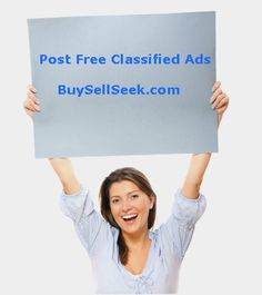 Post Free Classified Ads and Reach the local targeted audience. http://www.buysellseek.com
