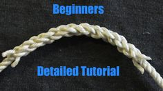 Beginner Friendly Splicing - How To Splice Three Stranded Rope Together