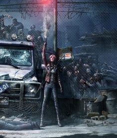 Do you think you would be able to survive a zombie apocalyps. - ZombieDo you think you would be able to survive a zombie apocalypse? ⚠️ ° ° Art b Zombie Survivor, Apocalypse Survivor, Zombie Apocalypse Survival, Apocalypse Art, Resident Evil, Dystopian Art, Zombie Wallpaper, Apocalypse Character, Post Apocalyptic Art