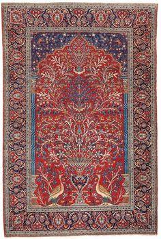 Tree of life , persian carpet