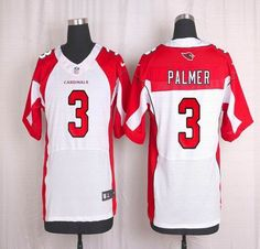 NFL Arizona Cardinals Mens Football Jersey Soccer Rugby Jerseys 3 Carson Palmer White Elite Jersey