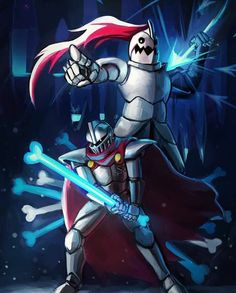 Image discovered by Ghalena Bismon. Find images and videos about undertale, papyrus and undyne on We Heart It - the app to get lost in what you love. Anime Undertale, Undertale Drawings, Alchemist Game, Object Heads, Toby Fox, Royal Guard, Underswap, Comic Sans, Game Art