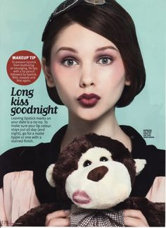 Kristina Krivomazova for Cleo Magazine March 2011-Malaysia-2