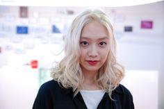 White Blond, Platinum Blond http://blog.naver.com/hairmaruni/110168063964