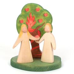 Ostheimer Adam & Eve and Apple Tree with the Serpent (no longer in production)