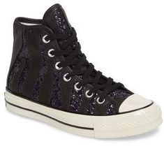 9af024ab6a1 Converse Chuck Taylor(R) All Star(R) 70 Animal Glitter High Top Sneaker.  Glittery layering enlivens the dappled animal pattern striping a classic  high-top ...