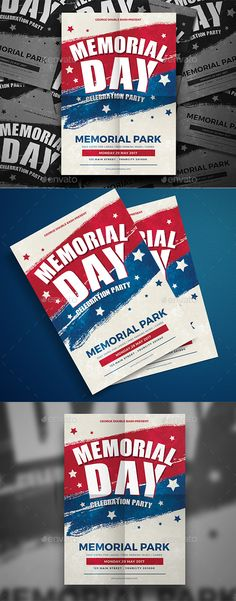 Memorial Day  Flyer Template Template And Party Flyer