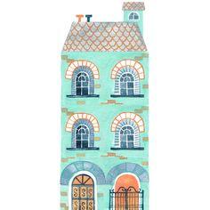 Victorian Row House - Miji Lee
