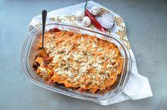 Wil je koolhydraatarm eten? Dan is deze zoete aardappelschotel met gehakt en een krokant korstje een perfect gerecht en erg makkelijk te maken!