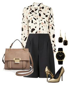 """""""casual meeting outfit"""" by freshdee ❤ liked on Polyvore featuring SECOND FEMALE, ADAM, Pierre Balmain, Ivanka Trump, Larsson & Jennings, Nordstrom Rack, women's clothing, women's fashion, women and female"""