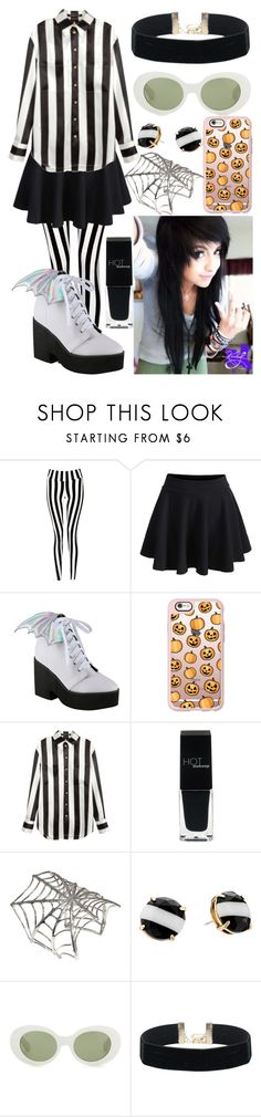 """7 more days!! -J♥"" by mikupayneluvs1d ❤ liked on Polyvore featuring Boohoo, WithChic, Iron Fist, Casetify, Balmain, HOTmakeup, Bernard Delettrez, Kate Spade and Acne Studios"