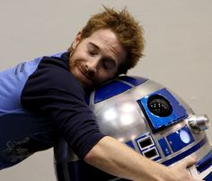 Seth Green and R2-D2