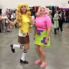 SpongeBob and Patrick Cosplay