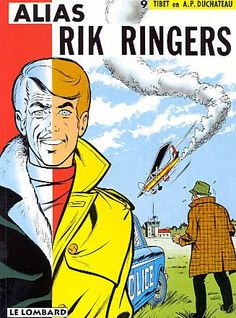 Rik Ringers (Ric Hochet) no.9 - Alias Rik Ringers door Tibet en Duchateau (Strip Turnhout)