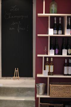 Les champagnes sont au frais !  #Champagne #TroisFoisVin