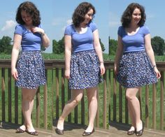 megan nielsen design diary: Beginner sewing projects – How to make an elastic waistband skirt