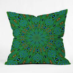 Lisa Argyropoulos Urban Aztec Throw Pillow #coloroftheyear