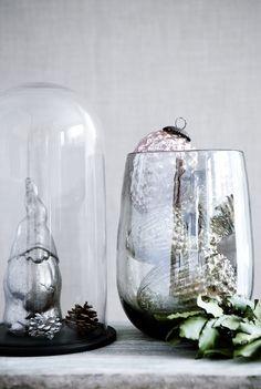 tujuh/ Zwerg Silber und Baumhänger Glas, Broste Copenhagen