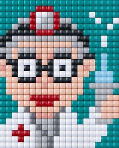 #pixels #pixelen #pixelXL #pixel.gift #pixelhobby #doctor #dokter #hospital #ziekenhuis
