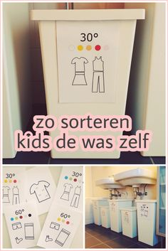 Exceptional Organizing with youngsters: was a sorter in gemardende wasmanden Organizing with youngsters: was a sorter. Home Organisation, Life Organization, Diy For Kids, Crafts For Kids, Diy Crafts Jewelry, Small Places, Infant Activities, Organizer, Family Life
