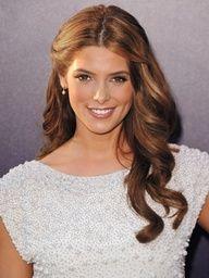 Brunette wedding hair