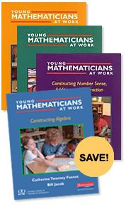 My go-to series for classroom vignettes around focused mathematics tasks! The Complete Young Mathematicians at Work Series #MathSummerReads