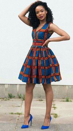 A collection of the best and Latest Casual African Ankara Styles. These casual ankara styles and casual ankara designs were specifically selected for your taste of casual ankara styles African Fashion Designers, African Inspired Fashion, African Print Fashion, Africa Fashion, African American Fashion, African Dresses For Women, African Print Dresses, African Wear, African Fashion Dresses