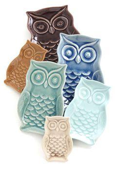 owl plate set