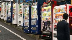 VENDING TREND: Thanks to Japan's low crime rate, vending machines are everywhere — from neon-lit city centers to the icy summit of Mount Fuji.
