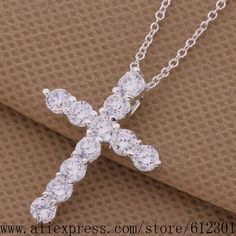 Silver plated Necklace silver fashion jewelry pendant
